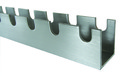Rotacaster Slotted Aluminum Channel